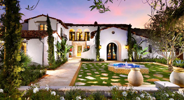 Spanish Gardens in Hollywood