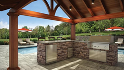 Fire Pits, BBQ Islands, and Fireplaces